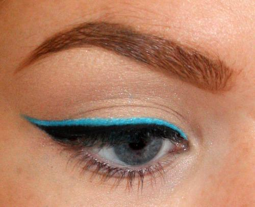 Add neon shade to liner