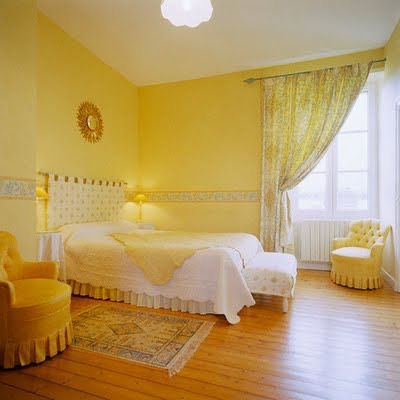 Very happy a yellow room makes it look bright and cheerful x