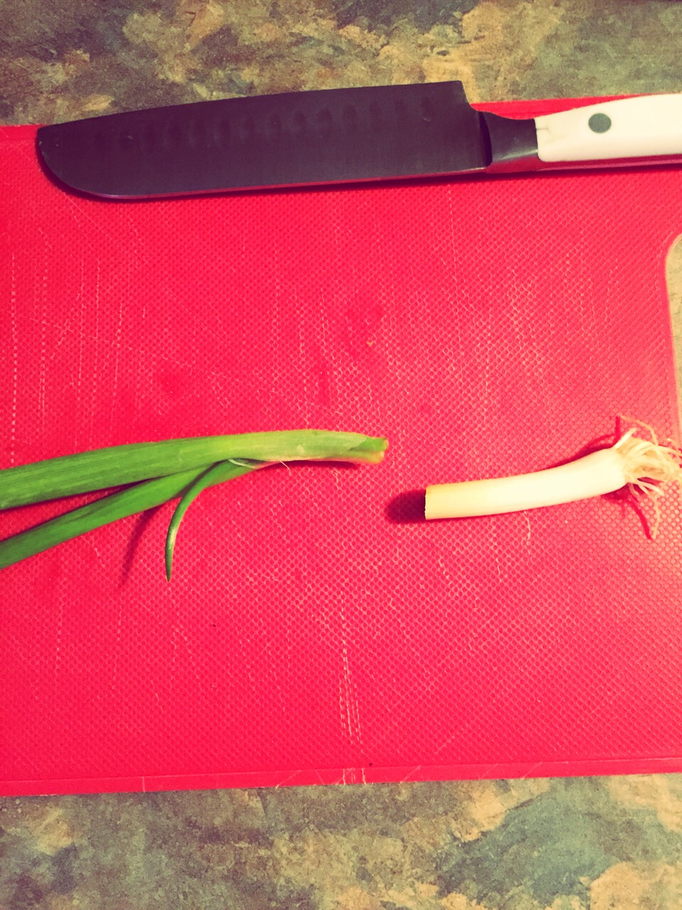Cut the root of your onion about 2-3inch