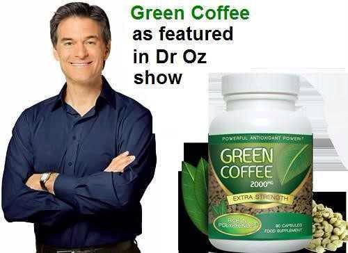 Green Coffee Bean Extract Weight Loss As Seen On The Dr Oz Show