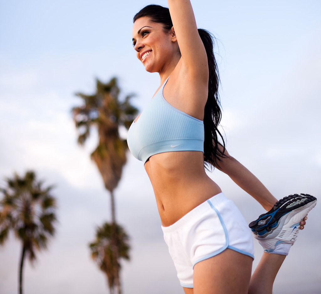 Exercise increases blood flow and helps clean out pores by sweating out toxins.