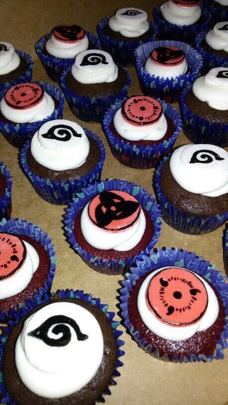 Naruto Sharingan Cake Decorations Sasuke S Mangekyou
