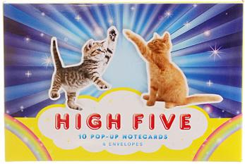 6. These congratulatory kitten note cards ($15).