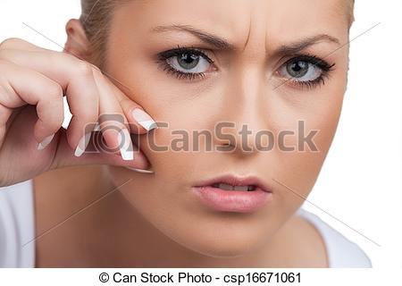 STOP TOUCHING YOUR FACE!!! Only leads to acne!!😵😵😬