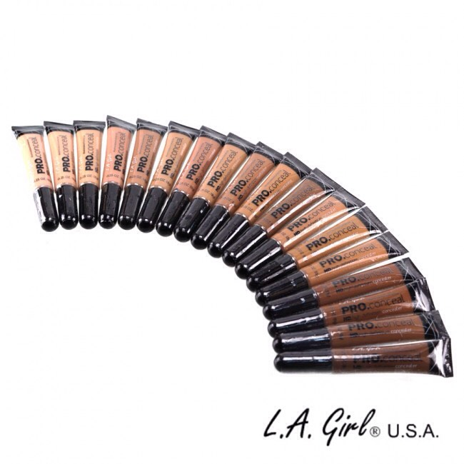 1. LA Girl Pro Concealer is emerging on the scene as one of the go to concealers that even the Pros stand behind! With a price tag of only $2.50 anyone can get their hands on this amazing product!! You should definitely give it a try, ladies!
