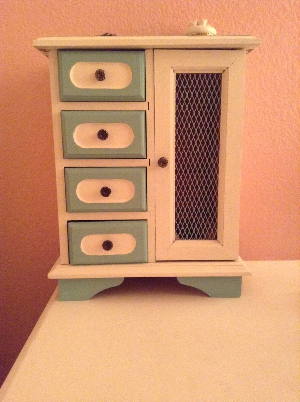Make or even buy a jewelry box