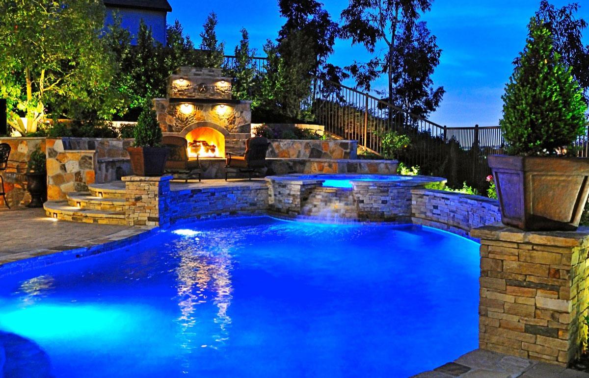 Attractive Incredible Backyard Pools