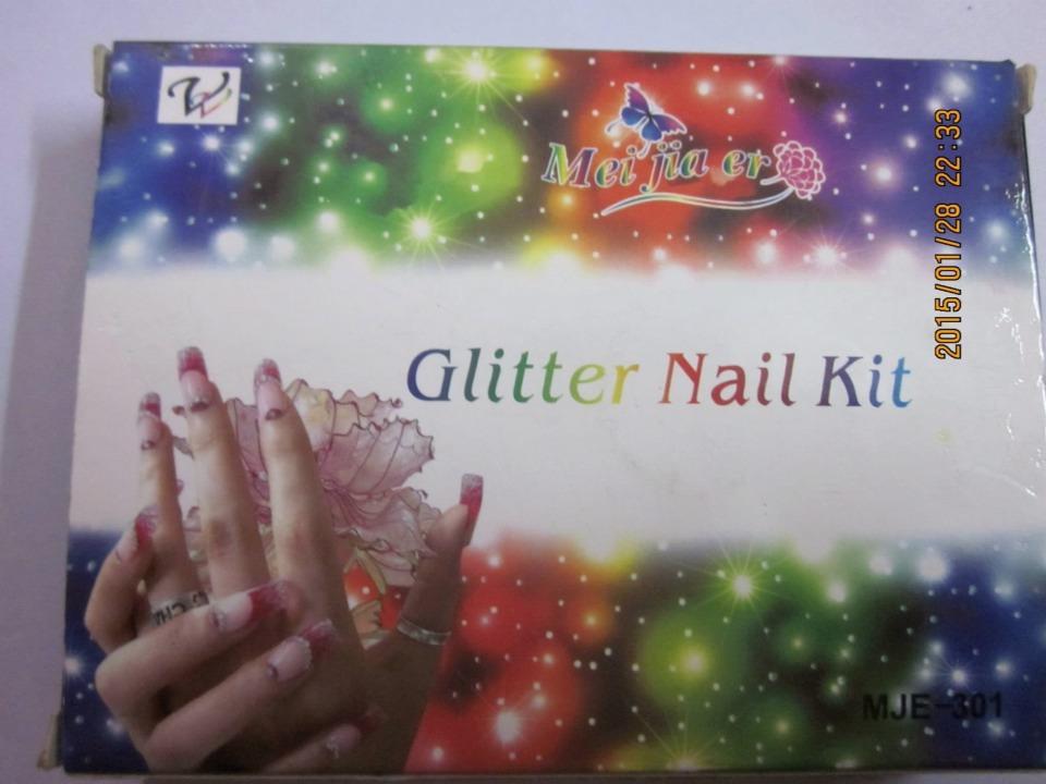 glitter nail kits