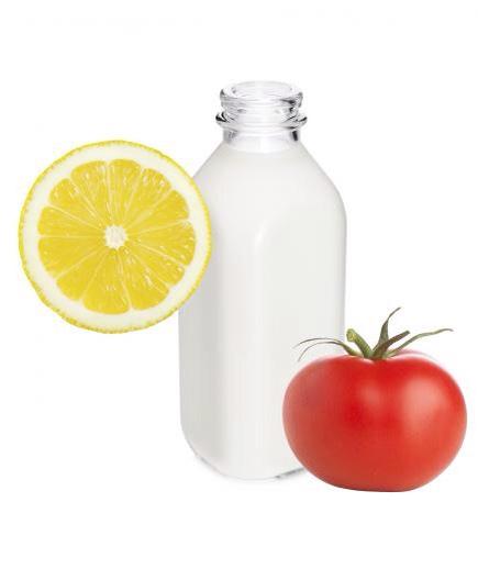 Skin lightening tomato cleanser