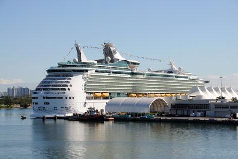 Miami cruise port