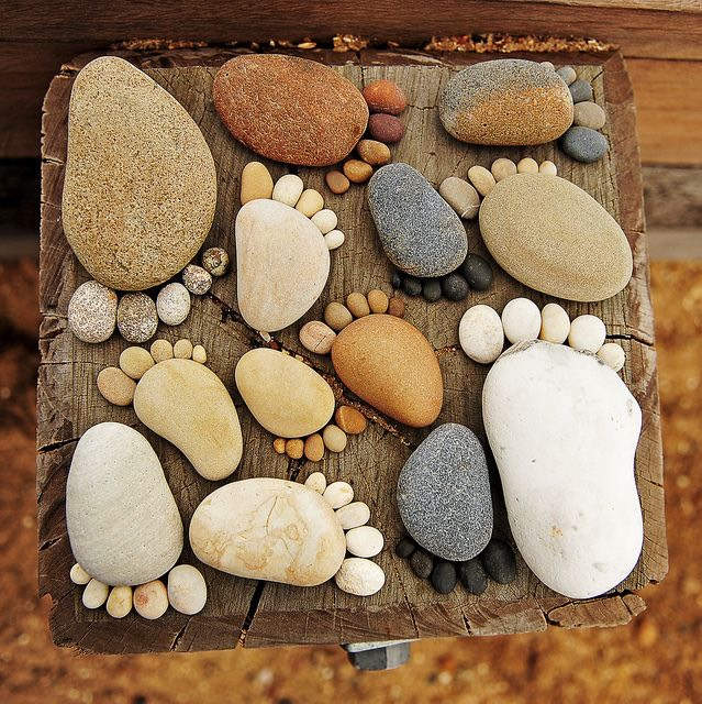 Take a day out to the beach and collect some stones! Its a perfect day out of the house for a perfect diy!