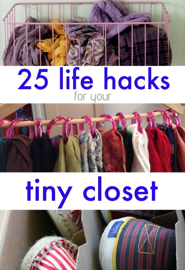 For those of us who have so many clothes, but not enough room.