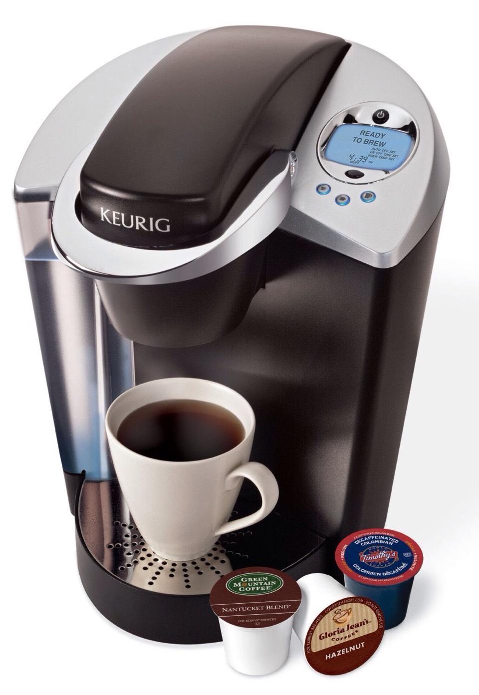 Kureg machine for good cups of coffee