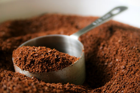 add coffee grounds to your face wash in the morning, it should wake you up and stimulate your skin