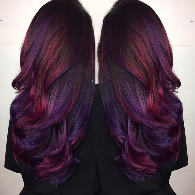 21 Purple Hair Color Ideas By Georgette 💕 Musely