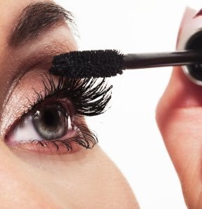 Wiggle the brush at the base of your lashes and flick it up towards the ends to prevent clumping
