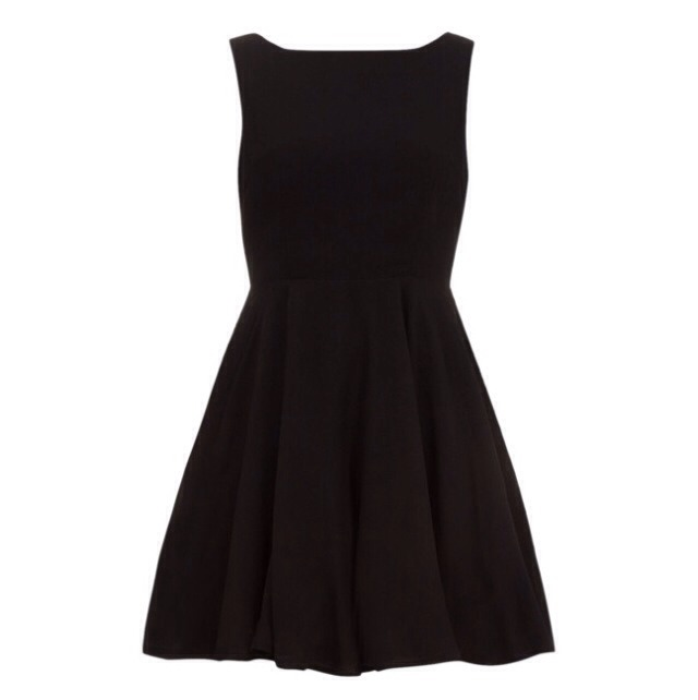 Alice and You black dress $55