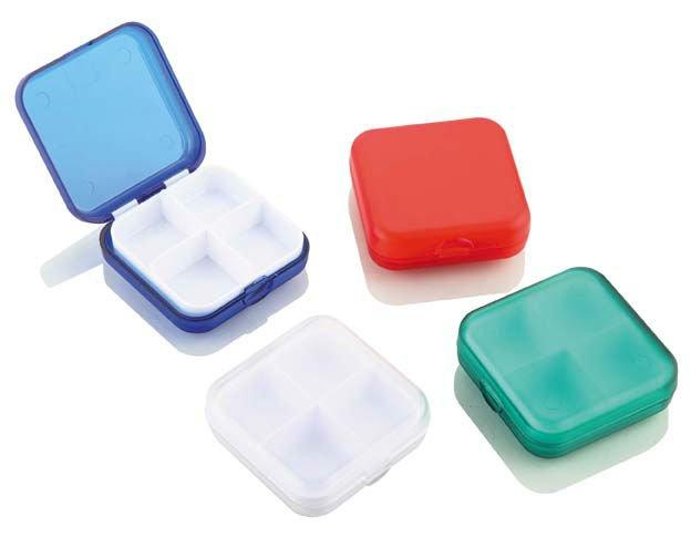 4. All-Purpose Case for Small Objects  From contact lenses to birth control to hair ties, you don't want your mini lifesavers to get lost in your purse, especially if you're tired and disoriented.