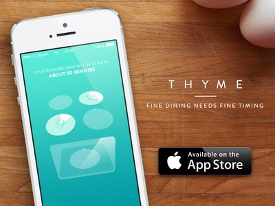 2. Thyme: A Kitchen Timer for the Culinary Arts