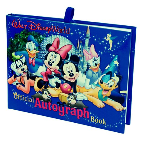 The Disney autograph book is perfect if you want to get signatures from all the characters. You could also make your own