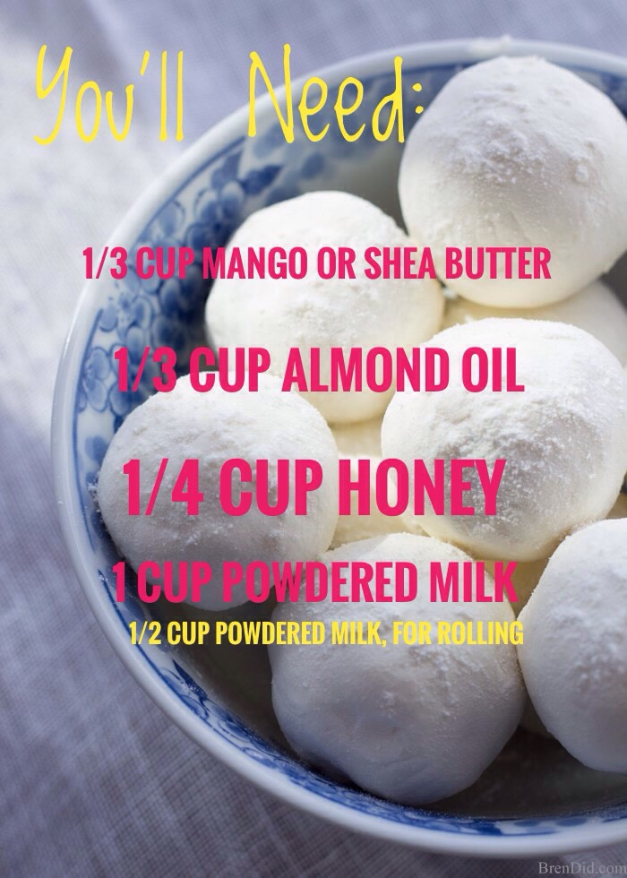 Milk + honey bath melts gently hydrate dry, irritated skin with all-natural ingredients: •rich mango butter •sweet almond oil •organic powdered milk •luxurious honey