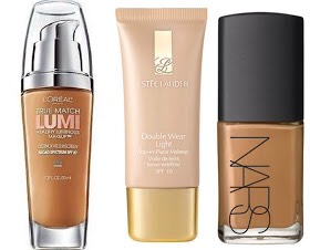 """""""MATURE""""   ContinuedThey willflattenthe face & bringunwanted attention to the imperfections in theskin.Themain objective is to balance out the complexion, brighten, &reflect light to """"lift""""skin.  PICTURED   📷  L'Oreal True Match Lumi, $11 Estee Lauder Double Wear Light,$38 Nars Sheer Glow"""