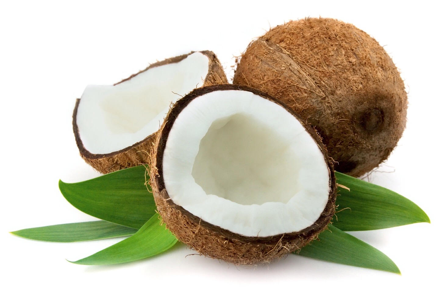Coconut oil helps damaged hair and also helps your hair grow longer faster ;)