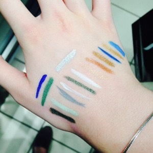 Now run the color down ur hand, so it is not to sharp and so u like the color