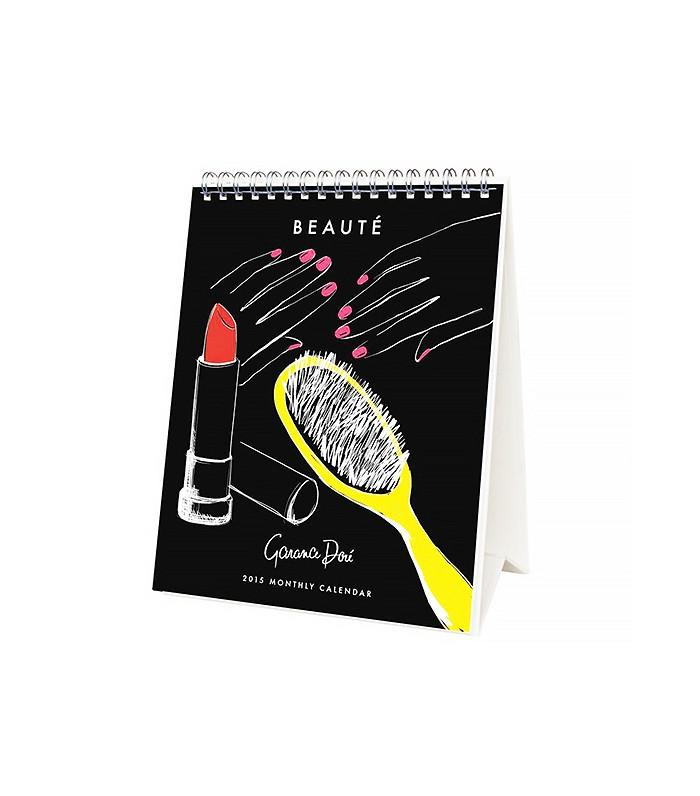 The Chic Calendar  Garance Dore X Rifle Paper Co 2015 Beaute Desk Calendar ($16) An adorable, practical addition to any beauty die-hard's desk. Très chic!