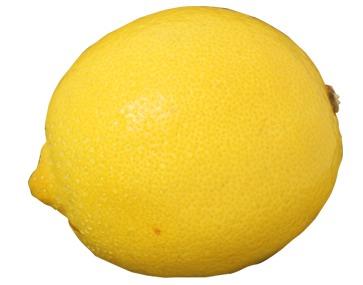 You need a lemon