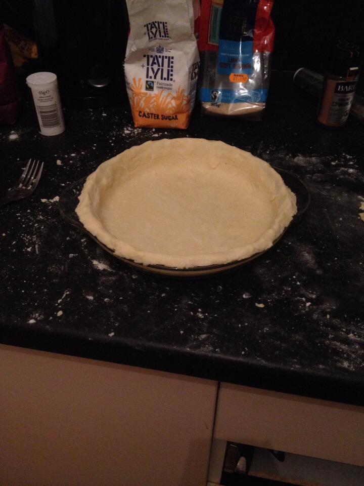 Pie casing