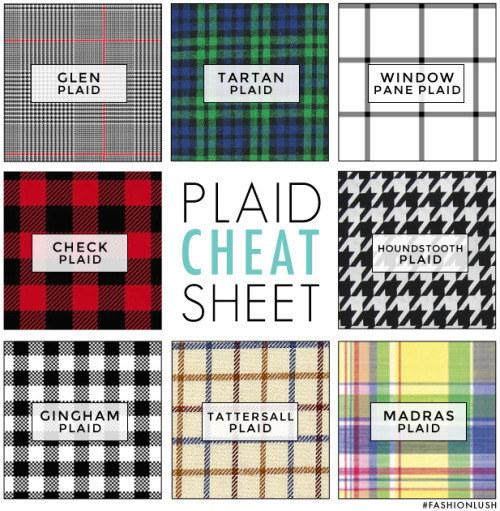5. Go mad for this guide to plaids. (SORRY.)