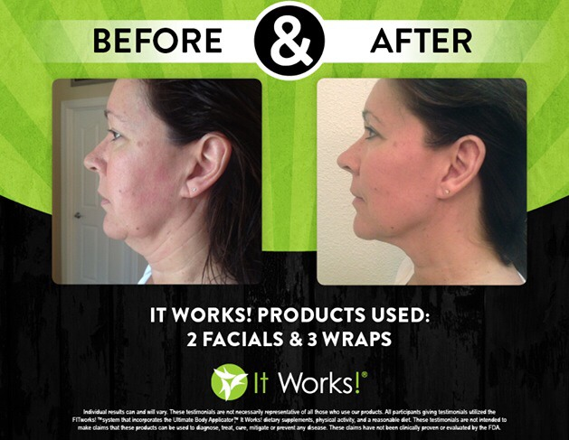 Facial wraps and body wraps