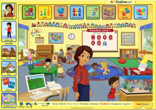 ABCMouse.com helps kids learn when out of school.