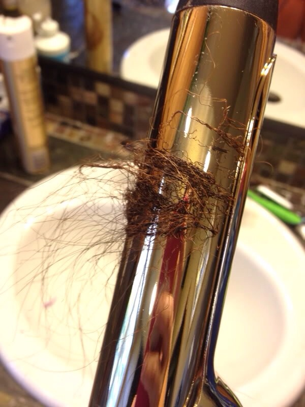Always make sure your hair is 100% dry before using hot styling tools