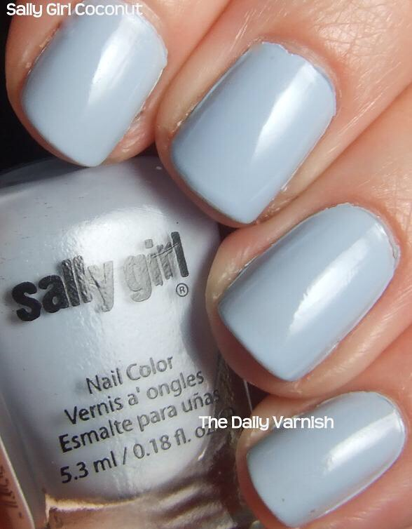 Sally Girl Nail Color😘 nice color selection