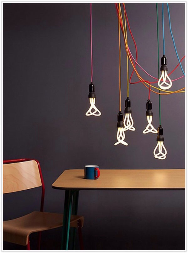 Make some DIY lights to brighten up your room.