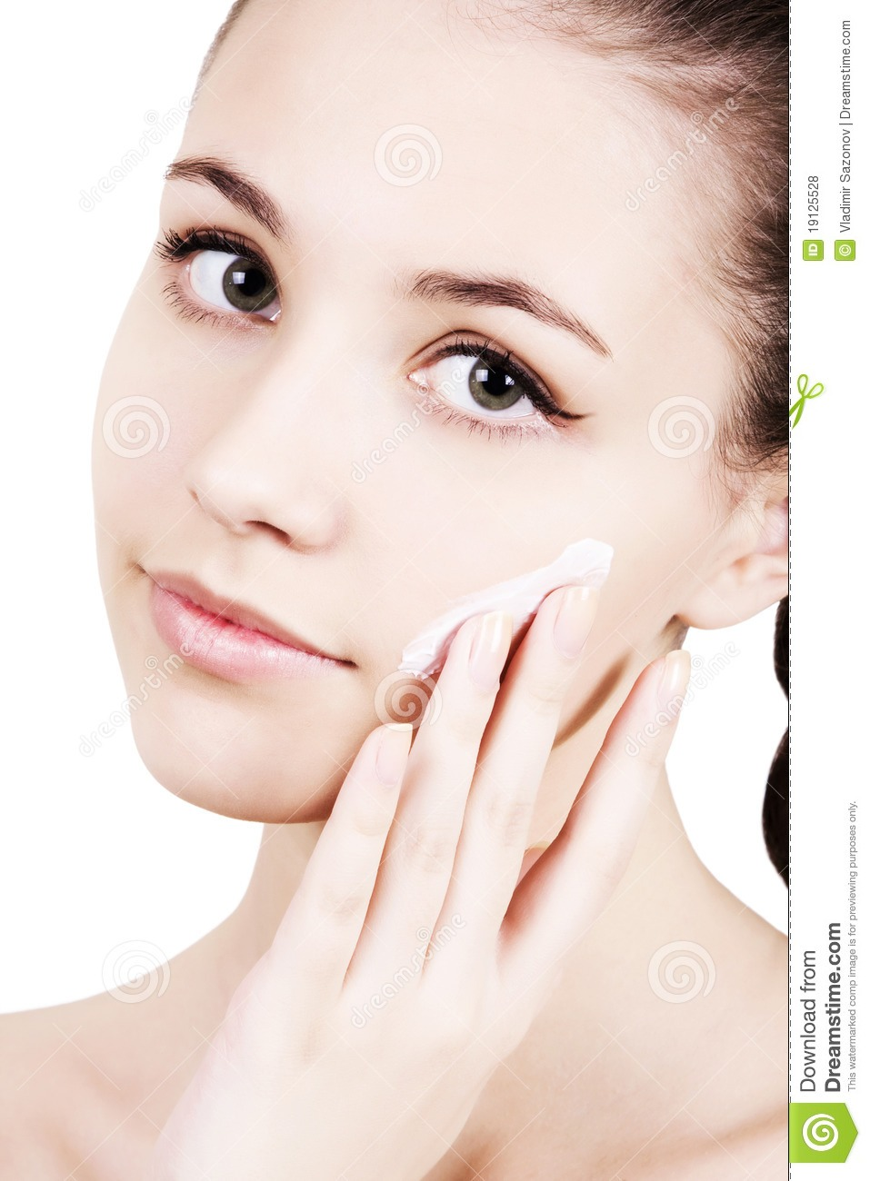 Never rub moisturizer on your face, pat it. Rubbing it actually takes it off your skin and disperses it in different places. Patting it helps the skin soak it up.