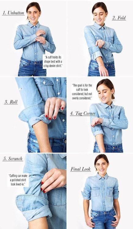 13. Get a great shirt cuff every time.