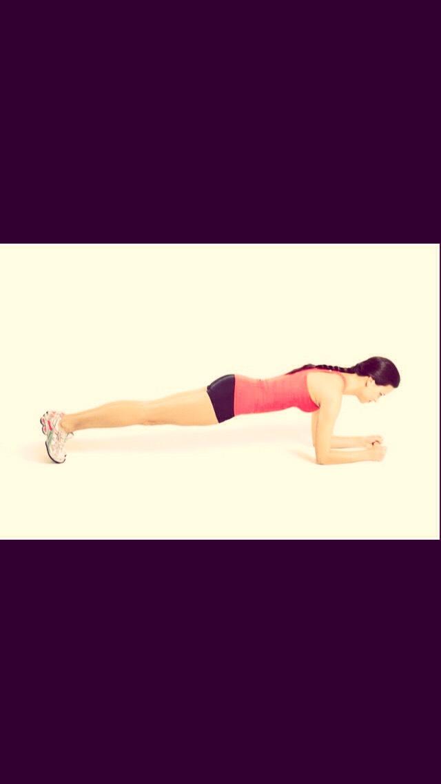60 second plank!!
