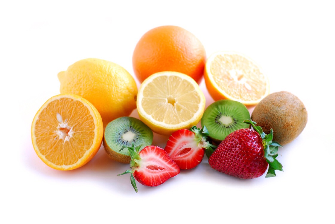 Eat plenty of fruit. Oranges, lemons, pineapples and other citrus fruits contain vitamin C, which helps to boost your immune system, and reduce infections.