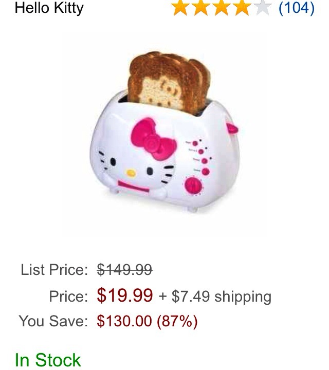 ✨💕WOW... Save $139.00.  I have been wanting one of these for so long. I just could not see paying &149.00 + S&H + taxes. 💕✨