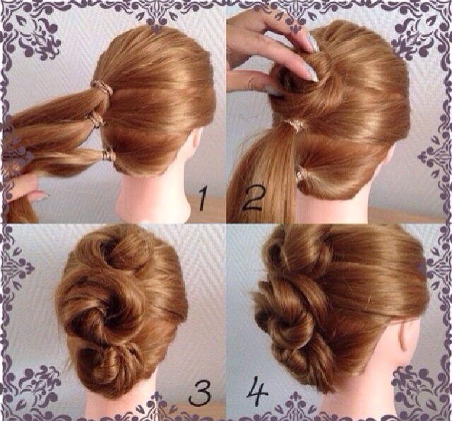 Lovely Elegant Hairstyle Tutorial Very Easy Steps By Vinita