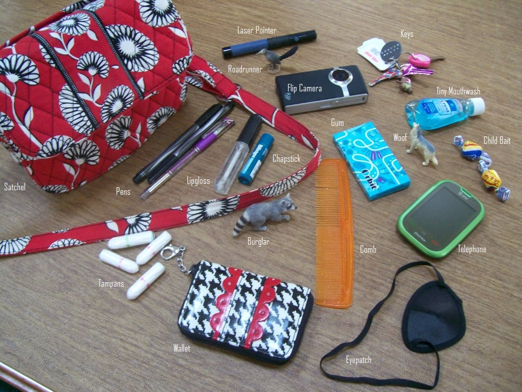 """At school you don't want to forget your health and beauty stuff!  Remember: Chapstick, a mini perfume spray or deodorant (just incase) and a mini brush  Gum or mints are also a must-have Hand sanitizer, a compact mirror and extra """"girl supplies"""" (for that time) are good things too"""