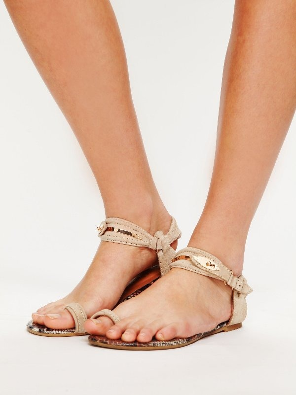 Do this every night for a week and before you know it you'll be rockin your new sandals with confidence!!