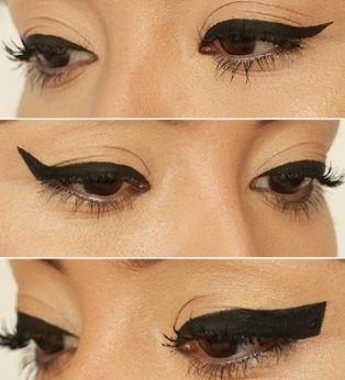 9. No Thick Lines The last tip for small eyes is thick lines. When you are trying to make your eyes appear much larger, make sure that there are no thick lines and instead, make sure that you do some smaller, thin lines.