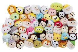 "I kid you not, but these are so adorable, but you can only find them in Disneyland and they're expensive on there too. But you can literally make these out of socks, there's a tutorial on it. Just look up ""diy disney tsum tsum"""