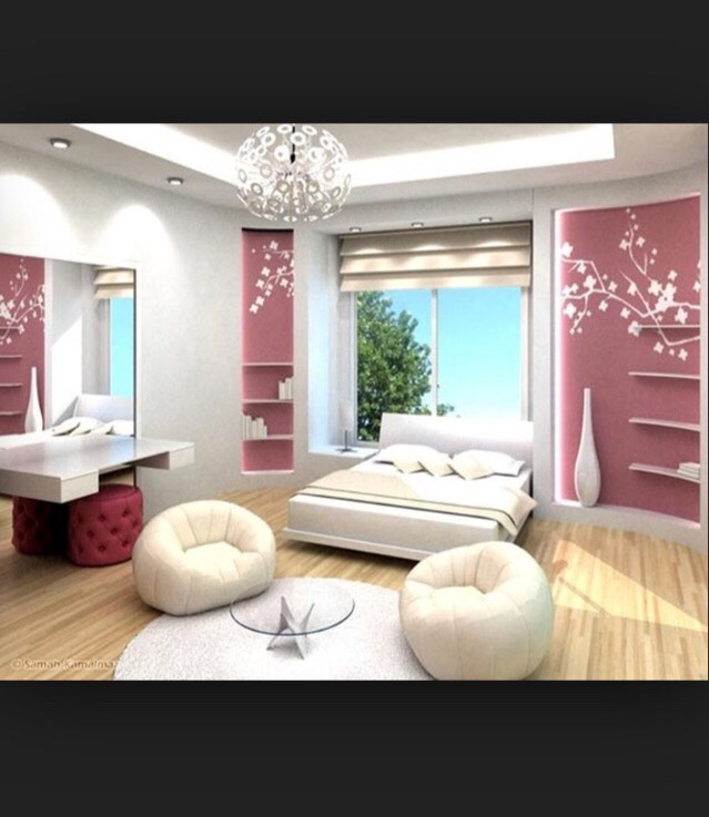 Cute simple bedroom