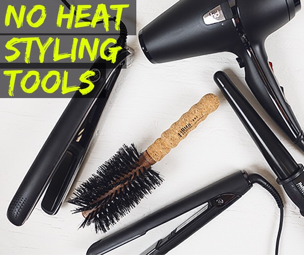Don't use heat because it will dry out ur hair