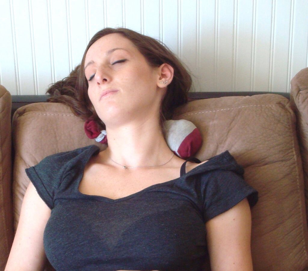 Now you have an instant heating pad just place it wherever you have your aches or pains!